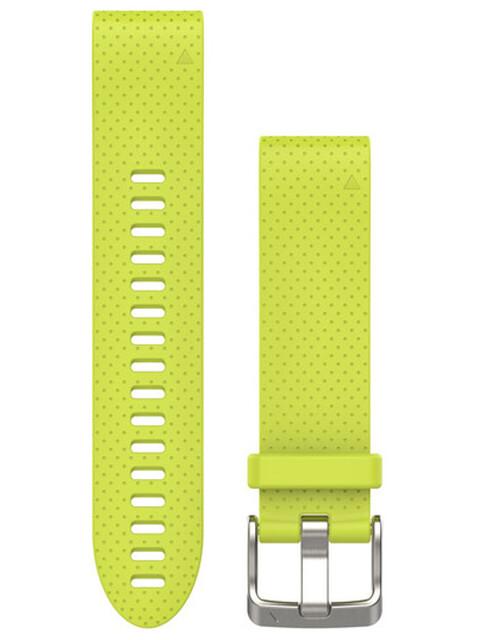 Garmin fenix 5S Silikonarmband QuickFit 20mm yellow